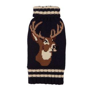 Fab Dog Fab Dog Navy Stag Sweater