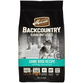 Merrick Pet Foods Merrick Backcountry Game Bird Grain-Free Dry Dog Food, 22-lb Bag