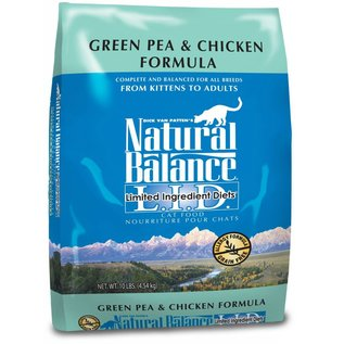 Natural Balance Natural Balance Cat Green Pea & Chicken Limited Ingredient Dry Food