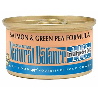 Natural Balance Cat Salmon & Green Pea Limited Ingredient Canned Food 3-oz Can