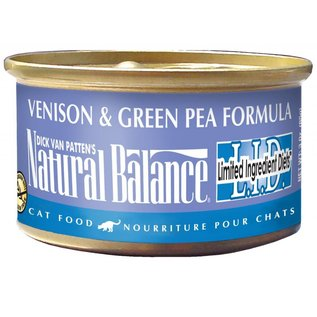 Natural Balance Natural Balance Cat Venison & Green Pea Limited Ingredient Canned Food