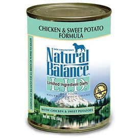 Natural Balance Natural Balance Chicken & Sweet Potato Limited Ingredient Canned Dog Food 13-oz Can