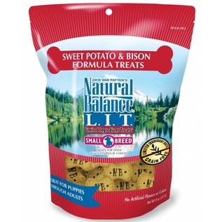 Natural Balance Natural Balance Sweet Potato & Bison Small Breed Limited Ingredient Dog Treat 8oz