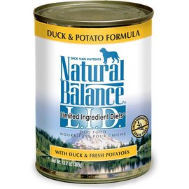 Natural Balance Duck & Potato Limited Ingredient Canned Dog Food 13-oz Can
