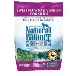 Natural Balance Sweet Potato & Venison Limited Ingredient Dry Dog Food