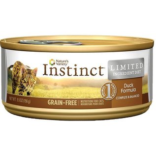 Nature's Variety Instinct Duck Limited Ingredient Grain-Free Canned Cat Food
