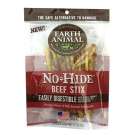 Earth Animal Earth Animal No-Hide Beef Stix, 10-Pack