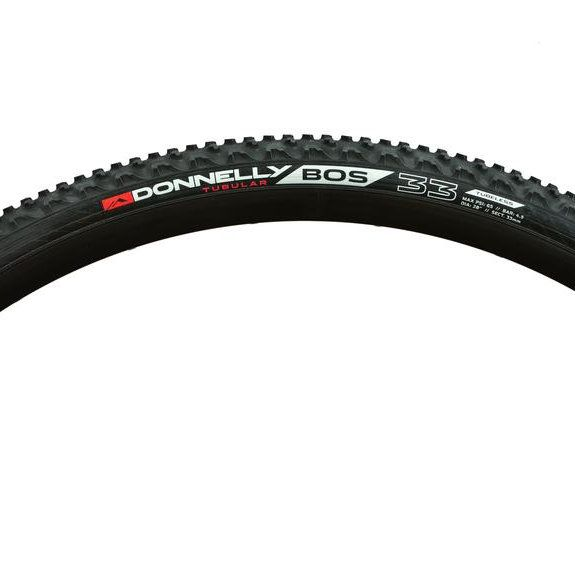 Donnelly Sports BOS Tubular Tire: 700 x 33 Black