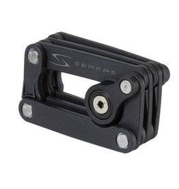 Serfas KL-Box Folding Steel Lock 2.5'