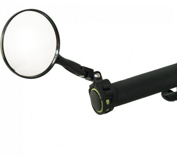 Axiom Fastflash DLX Universal Handlebar Mirror: Super Convex