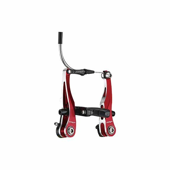 TRP TRP CX9 Mini Linear Pull Brake Set, Front and Rear, Red