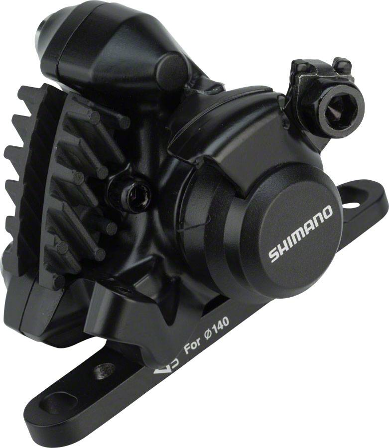 Shimano Shimano BR-RS305 Rear Flat-Mount Disc Brake Caliper with Resin Pads with Fins