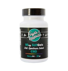Floyds Of Leadville CBD Hemp Oil 30/Capsules 50mg