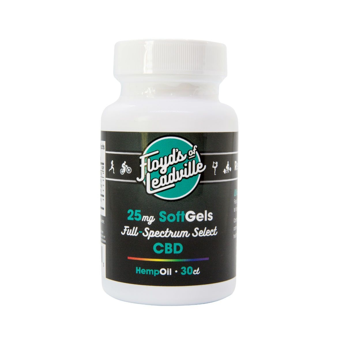 Floyds Of Leadville CBD Hemp Oil 30/Capsules 25mg