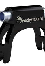 RockyMounts StreetRod Thru-Axle Bike Mount: compatible with 12 and 15mm front axles, Black