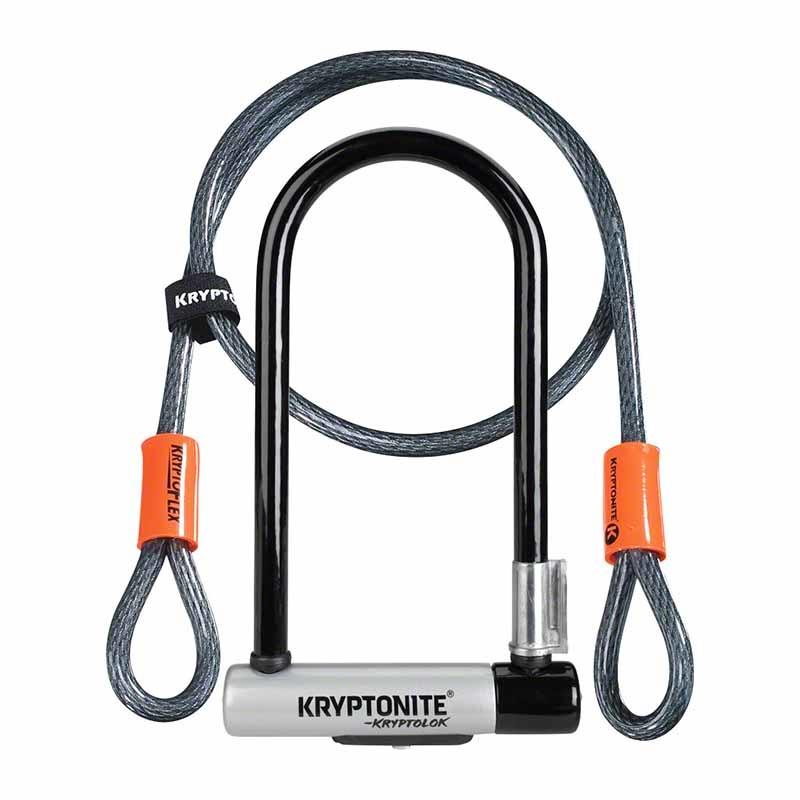 Kryptonite Keeper U Lock STD w/4Cable