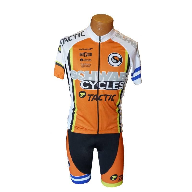 Tactic Mens Schwab Cycles Team Jersey