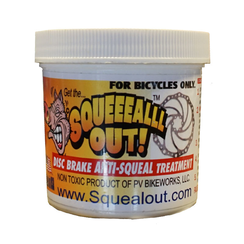 Squeal Out Anti-Squeal Disc Brake Paste: 3oz Jar