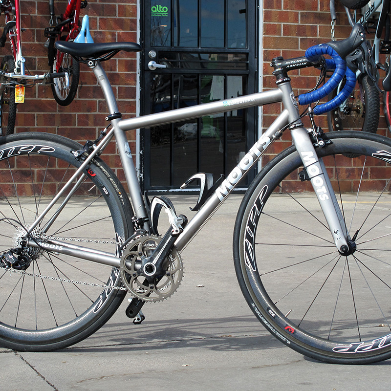 Moots Preowned Moots RSL Campagnolo Record 11spd 54cm