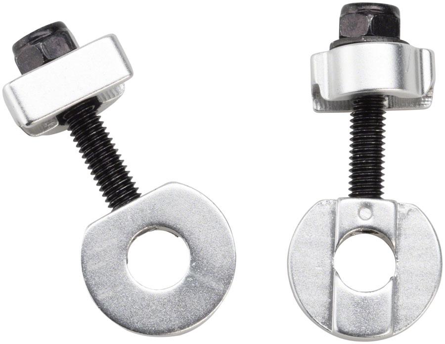 "Promax C-2 Chain Tensioners for 3/8""/10mm Axles Silver"
