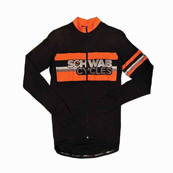 DNA Cycling Schwab Cycles Wool Long Sleeve Jersey