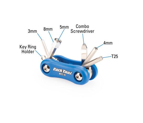 Park Tool MTC-10 Composite Multi-Function Tool