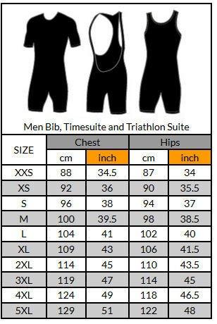 Funkier Clothing Men's Bib Short w/F3 3D Italian Pad