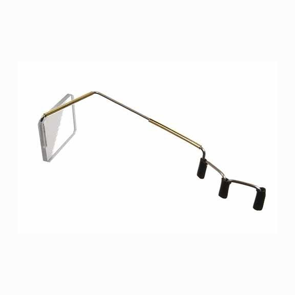 Bike Peddler Take A  Look Eyeglass Mirror
