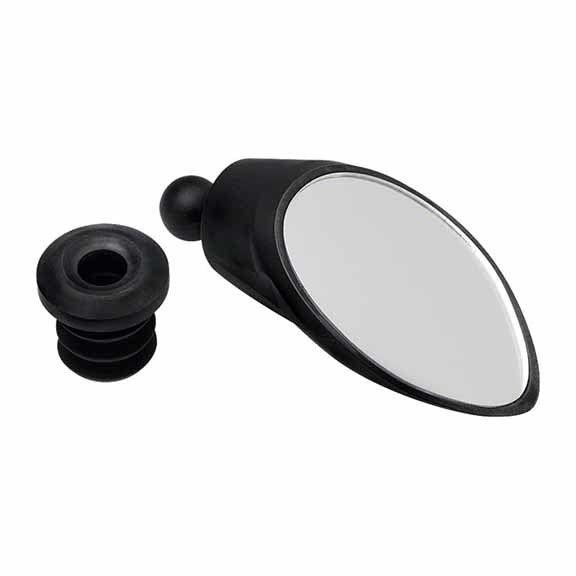 CycleAware Roadie Removable Bar-end Mirror: Black