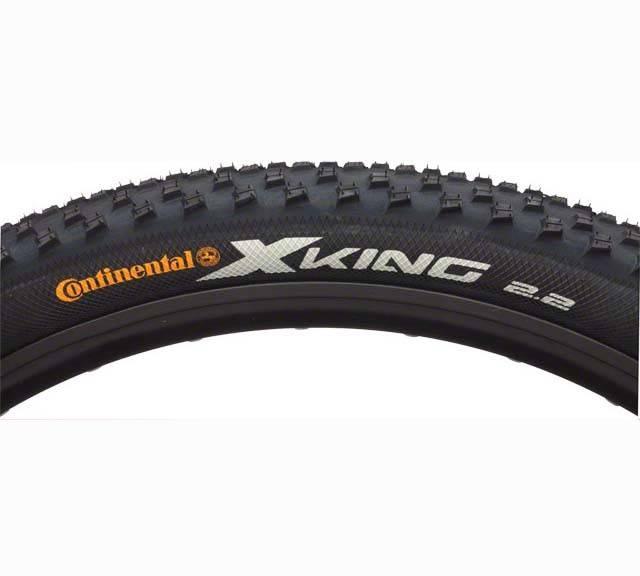 Continental X-King 29 x 2.4 Fold ProTection + Black Chili