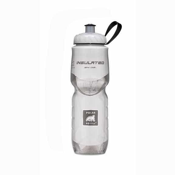 Polar Bottles Insulated 24oz Water Bottle White