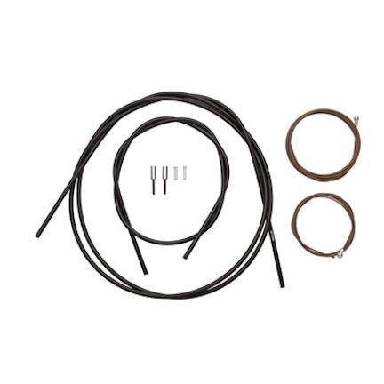 Shimano Dura-Ace Polymer-Coated Brake Cable Set, Black