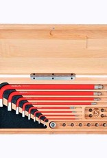 Silca Silca HX1 Hex Wrenches and Drive Tool Kit with Wood Case