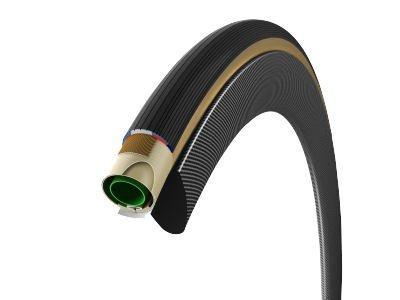 Vittoria Corsa G+ Tubular 700 x 25 Tire, Natural/Black/Black