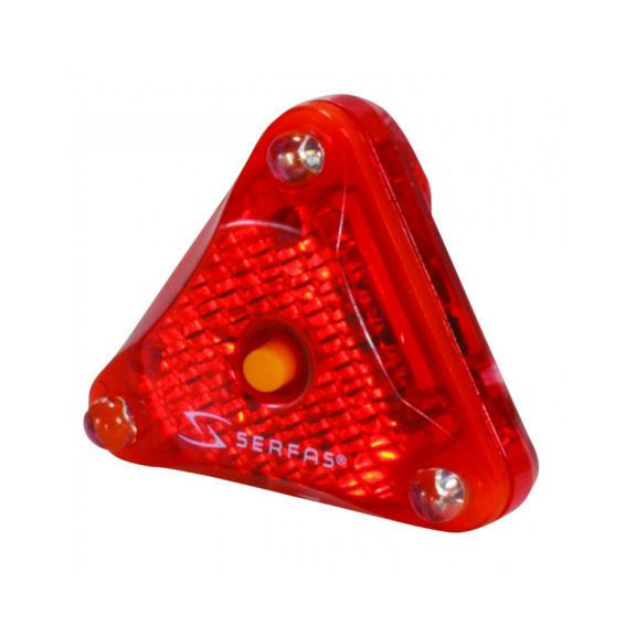 Serfas Tri LED Helmet Light