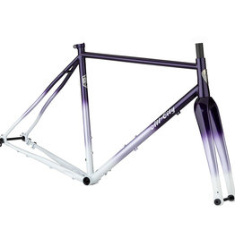 All-City Cosmic Stallion Frameset - 700c, Steel, Purple Fade, 58cm