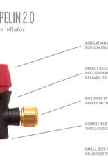 Planet Bike Red Zeppelin Inflator Head Only