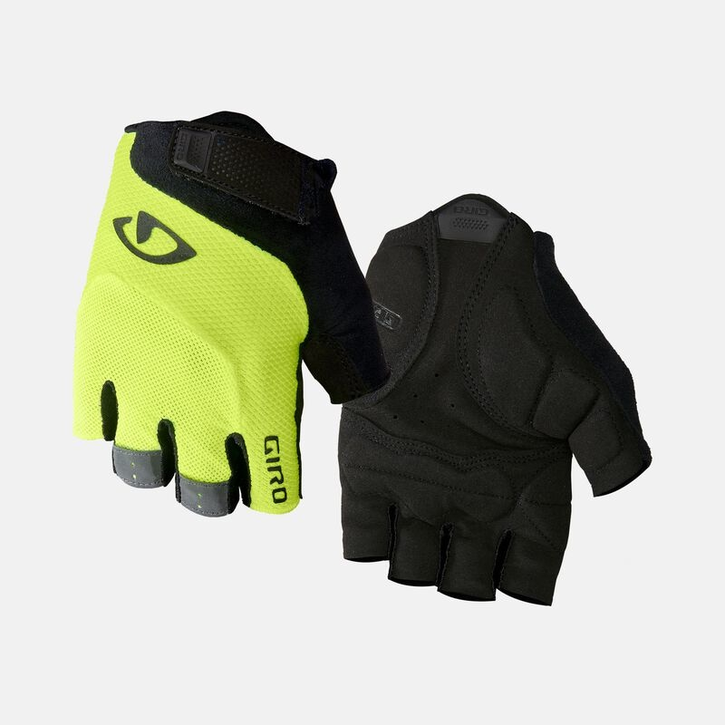 Giro Mens Bravo Gel Short Finger Glove