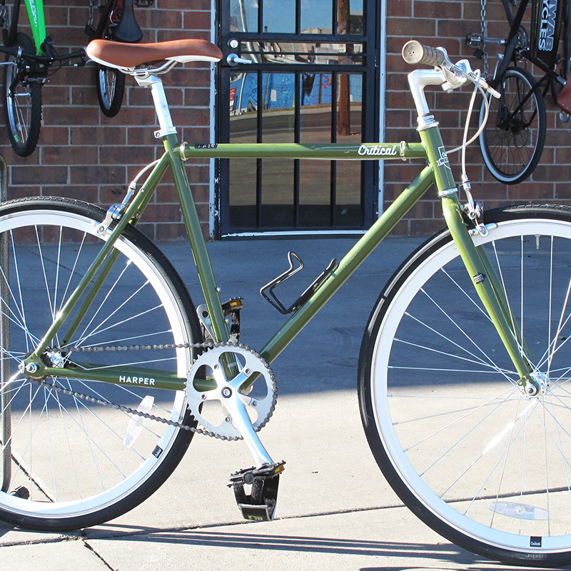 Critical Preowned Single Speed Bicycle