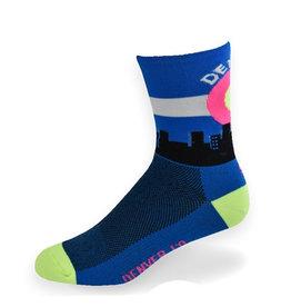 """SOS Socks Denver Skyline 6"""""""