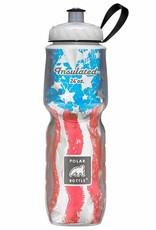 Polar Bottles Insulated 24oz Water Bottle USA Star Spangle