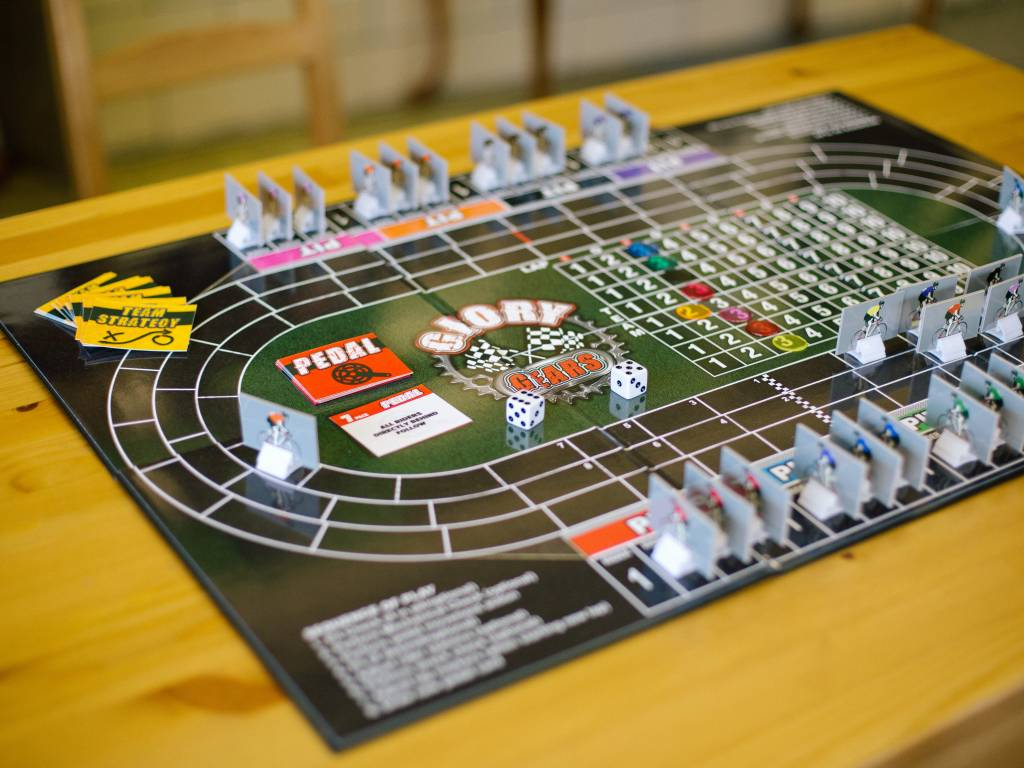 Mindmeld Glory Gears Cycling Board Game