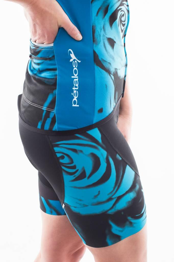 Petalos 2017 Women's Half Short Flor-Blue
