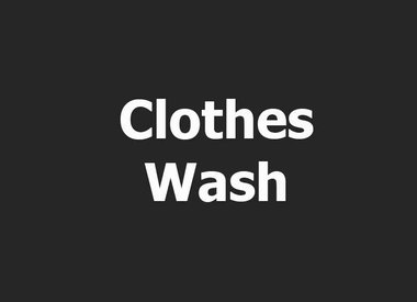 CLOTHES WASH