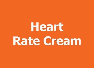 HEART RATE CREAM