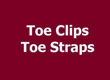 TOE CLIPS/STRAPS