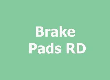 BRAKE PADS RD