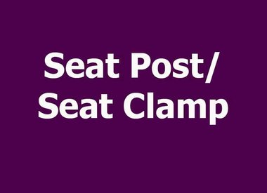 SEAT POST/SEAT CLAMP