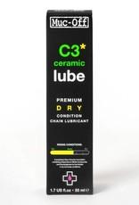 Muc-Off Ceramic Dry Lubricant, 50ml with UV Torch