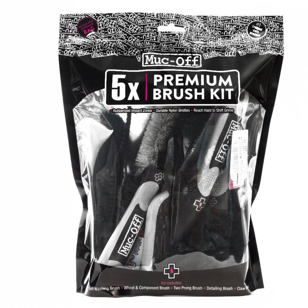 Muc-Off Muc-Off Five Brush Set